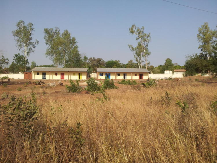 The school we build in Manantali