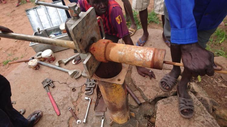Repairing the actual pump cylinder